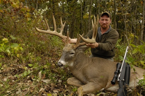 Big Muzzleloader Buck Shot in Mid-West