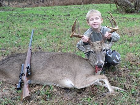 Georgetown Hunter Bags First Buck at Five