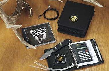 Scoring Equipment for Boone & Crockett Method