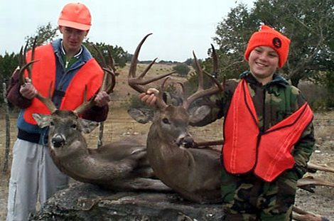Youth Hunt at Kerr WMA