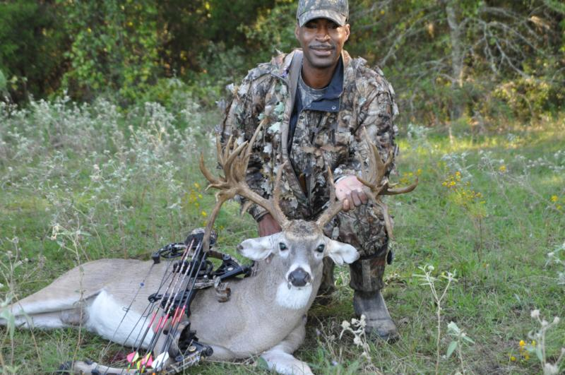 Game Warden with his Kaufman County 27 Point Buck
