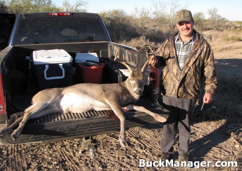 Deer Hunter with Management Buck