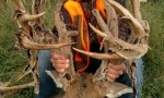 Big Nontypical Buck Shot in Kansas