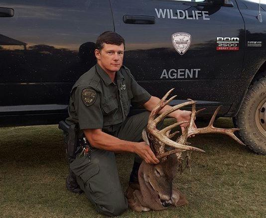 Big Whitetail Buck Poached in Louisiana