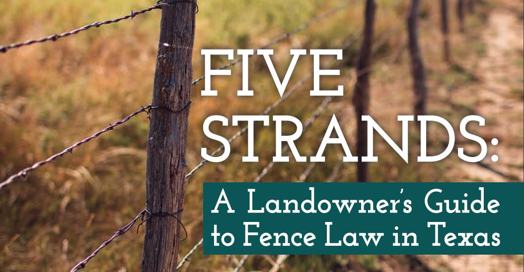 Texas Fence Laws