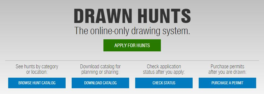 TPWD Drawn Hunts for 2017-18